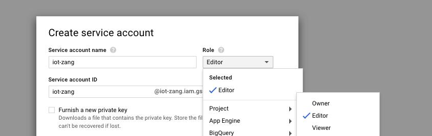 Google IoT - Zang