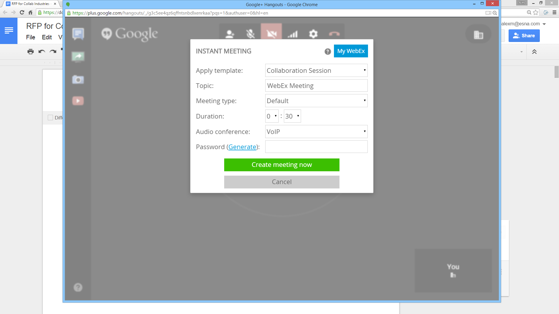 Integrate WebEx with Cloud Apps, Browsers   Zang Connect for WebEx
